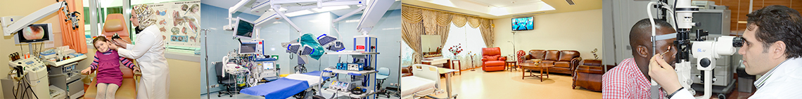 facilities of iranian hospital dubai