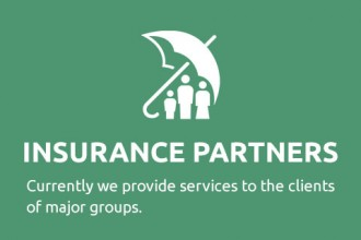 Insurance Partners - Currently we provide services to the clients of major groups