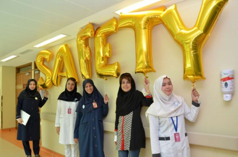 International Safety Week in Iranian Hospital