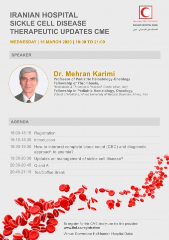 Iranian hospital Sickle Cell Disease Therapeutic Updates CME
