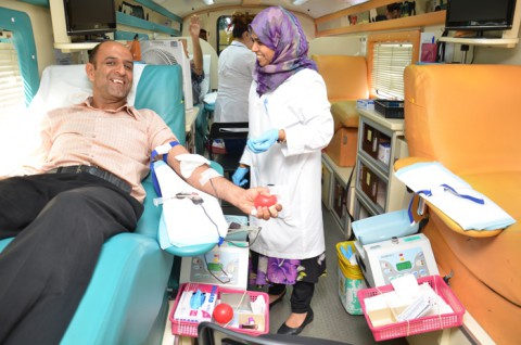 Iranian Hospital-Dubai hosted a Blood Donation Campaign