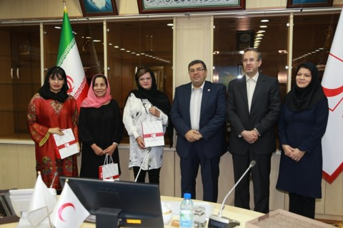 Ecuadorian Red Cross President Visits Iranian Red Crescent