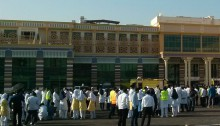 Iranian Hospital in Dubai performed a fire drill