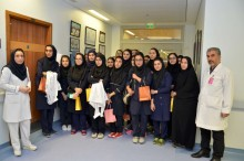 "Students of ""Sharjah Iranian School"" visited Iranian Hospital-Dubai"